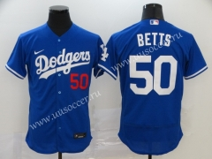 2020 New MLB Los Angeles Dodgers Blue #50 Jersey