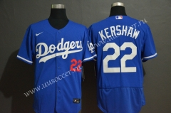 2020 New MLB Los Angeles Dodgers Blue #22 Jersey