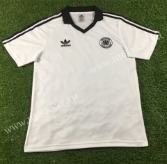1980 Retro Version Germany Home White Thailand Soccer Jersey-503