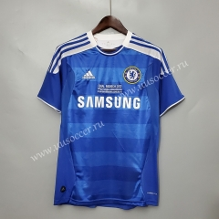 11-12 Retro Version  UCL Final Chelsea Home Blue Thailand Soccer Jersey AAA-C1046