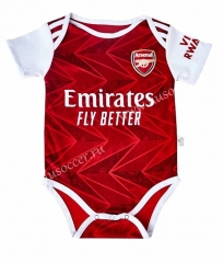 2020-2021 Arsenal Home Red Baby Soccer Uniform