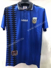 1994 Retro Version Argentina Royal Blue Thailand Soccer Jersey AAA-905