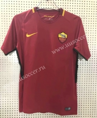 1718 Retro Version AS Roma Home Red Thailand Soccer Jersey AAA-811