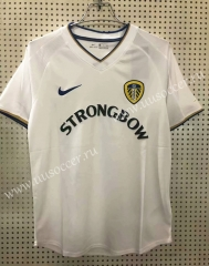 2000-2001 Retro Version Leeds United Home White Thailand Soccer jersey AAA-811