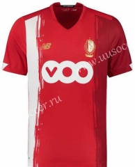 Retro Version Standard Liège Home Red Thailand Soccer Jersey AAA-HR