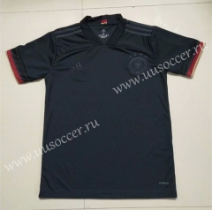 2020-2021 Germany Away Black Thiland Soccer Jersey