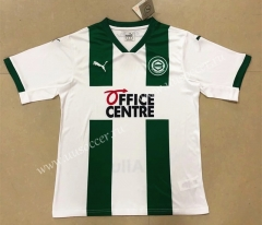 2020-2021 FC Groningen Home White & Green Thailand Soccer Jersey AAA