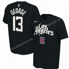 NBA Los Angeles Clippers Black #13 Cotton T-shirt