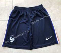 2020-20201 France Home Royal Blue Thailand Soccer Shorts