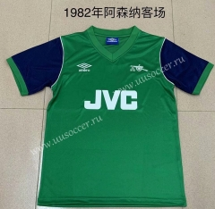 1982 Retro Version Arsenal Away Green Thailand Soccer Jersey AAA-DG