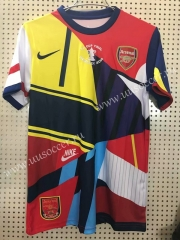 20th Commemorative Edition Arsenal Red & Yellow &Blue Thailand Soccer Jersey AAA-811