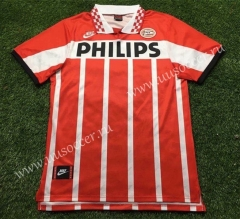 Retro Version PSV Eindhoven Red & White Thailand Soccer Jersey AAA-503