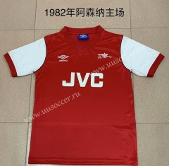 1982 Retro Version Arsenal Home Red Thailand Soccer Jersey AAA-AY