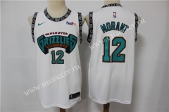 Retro Version Fans NBA Memphis Grizzlies Blue & White #12 Jersey