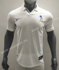 1998 Retro Version Italy Away White Thailand Soccer Jersey AAA-416