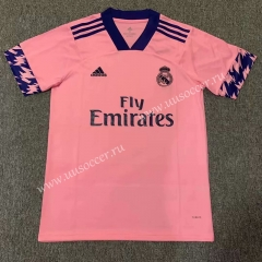 2020-2021 Real Madrid Pink Thailand Soccer Training Jersey-518