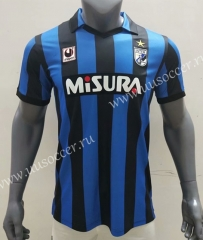 1988-1989 Retro Version Inter Milan Home Blue&Black Thailand Soccer Jersey AAA-416