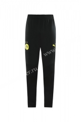 2020-2021 Borussia Dortmund Yellow Traning Soccer Long Pants -LH