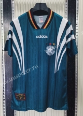 1998 Retro Version Germany Away Green Thailand Soccer Jersey-C1046