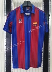 1990 Retro Version Barcelona Home Red & Blue Thailand Soccer Jersey AAA-C1406