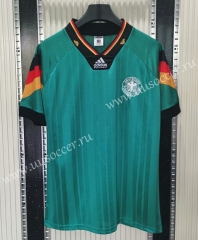 1992 Retro Version Germany Green Thailand Soccer Jersey-C1046