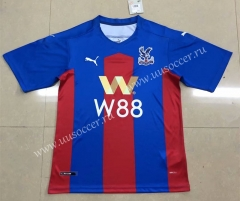 2020-2021 Crystal Palace Home Red & Blue Thailand Soccer Jersey AAA-HR