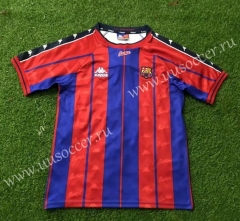 97-98 Retro Version Barcelona Red & Blue Thailand Soccer Jersey AAA-503