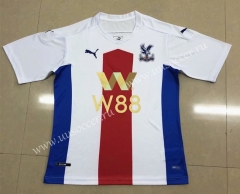 2020-2021 Crystal Palace 2nd Away Red & White & Blue Thailand Soccer Jersey AAA-HR