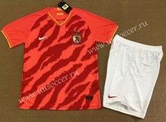 2020-2021 Guangzhou Evergrande Home Red Soccer Uniform-FL