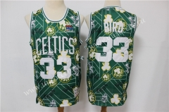 Limited Retro Version NBA Boston Celtics #33 Jersey