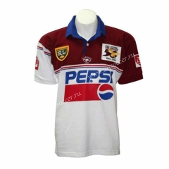 50th Commemorative Edition Seattle Seahawks Red & White Thailand Rugby Shirts