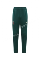 2020-2021 Italy Green Traning Thailand Soccer Long Pants-LH