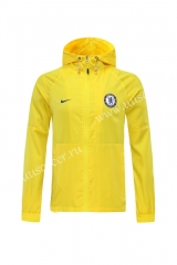 2020-2021 Chelsea Yellow Wind Coat With Hat-LH
