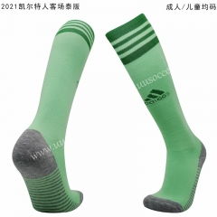 2020-2021 Celtic Away Green Thailand Soccer Socks