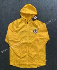 2020-2021 Chelsea Yellow Wind Coat With Hat-WD