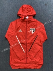 2020-2021 Sao Paulo Red Wind Coat With Hat-WD