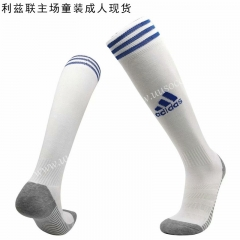 2020-2021 Leeds United Home White Soccer Socks