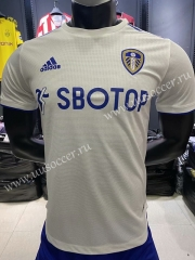 Player Version 2020-2021 Leeds United Home White Thailand Soccer jersey AAA