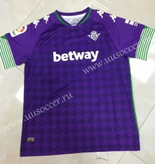 2020-2021 Real Betis Away Purple Thailand Soccer Jersey AAA-905