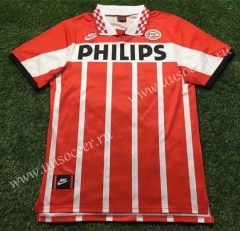 94-96 Retro version  PSV Eindhoven Home Red & White Thailand Soccer Jersey AAA-503