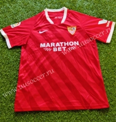 2020-2021 Sevilla FC Away Red Thailand Soccer Jersey AAA-503