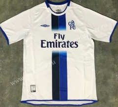 03-05 Retro Version Chelsea Away White Thailand Soccer Jersey AAA-510