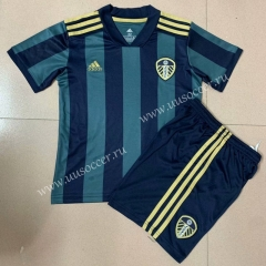 2020-2021 Leeds United Away Green Thailand Soccer Uniform