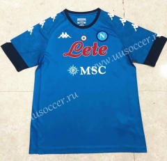 2020-2021 Napoli Home Blue Thailand Soccer Jersey AAA