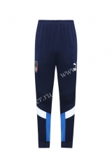 Classic Version 2020-2021 Italy Royal Blue Thailand Soccer Long Pants -LH