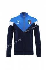 Classic Version 2020-2021 Italy Royal Blue Thailand Soccer Jacket -LH