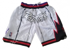 NBA Toronto Raptors Thunder White Shorts