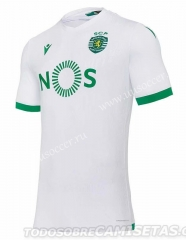 2020-2021 Sporting Clube de Portugal 2nd Away White Thailand Soccer Jersey AAA-503
