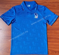 1994 Retro Version Italy Home Blue Thailand Soccer Jersey AAA-912