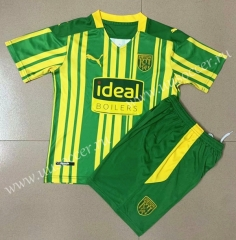 2020-2021 West Bromwich Albion Away Green Soccer Uniform-AY